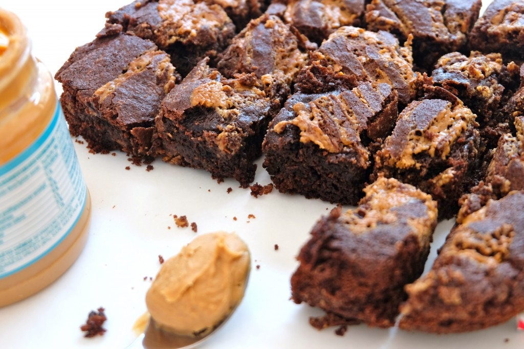 BROWNIE AU PEANUT BUTTER